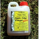 Apple Cider Vinegar with Garlic 1 litre (Happy Hens)
