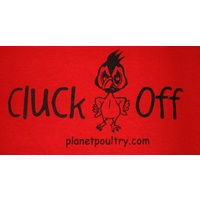 Cluck Off! T-Shirt [Size: M][Colours: Red]