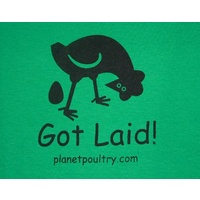 Got Laid! T-Shirt [Size: L][Colours: Red]